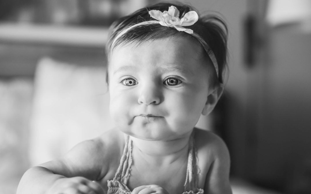 Carrie Collin's Photography – Bethesda Newborn Photographer – Baby A, Three Months Young