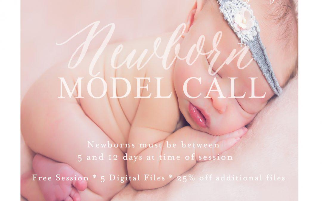 November Newborn Model Call