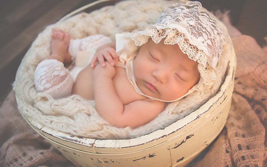 Baby Amelia | Two Months Young | Bethesda Maryland Newborn Session