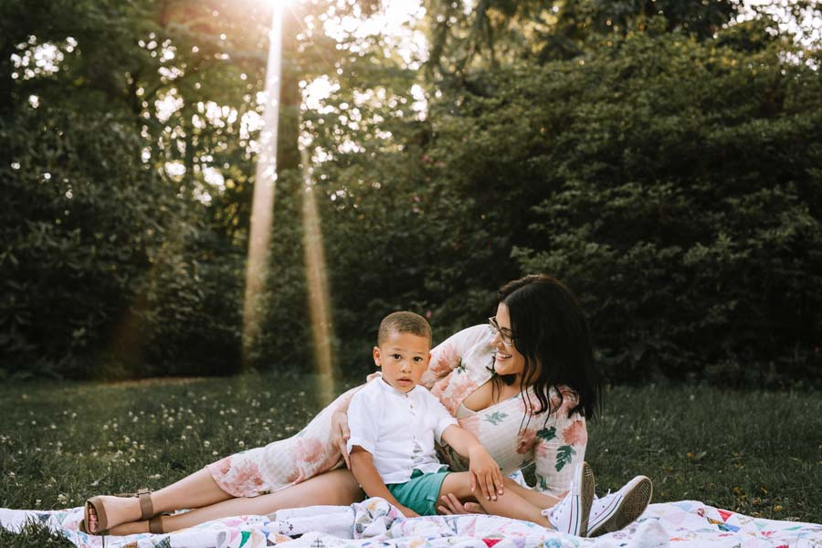 Bethesda Family Photography | Spring Mini Session